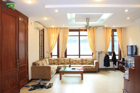 5 bedrooms house for rent in Tay ho, bright and lake view terrace
