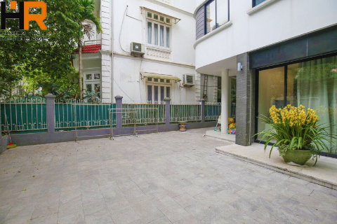 Modern 3 bedroom house with large yard for rent in To Ngoc Van - Tay Ho