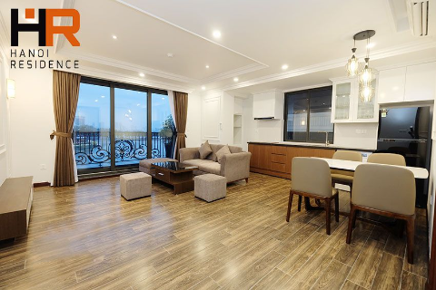 Brand-new & Modern 02 beds apartment for rent on Tran Vu with lake view