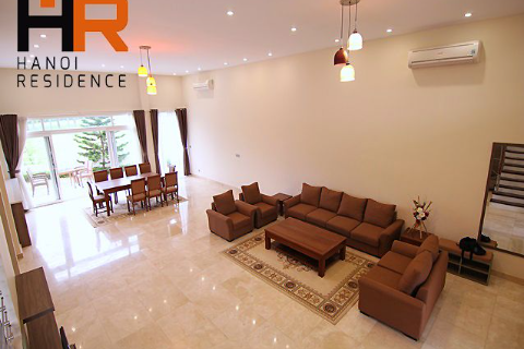 Brand new & fully furnished 06 beds villa in block Q Ciputra, Ha Noi