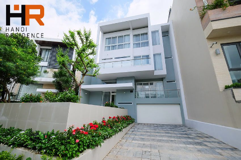 Brand-new & Modern Villa in block Q Ciputra, 05 beds, fully furnished