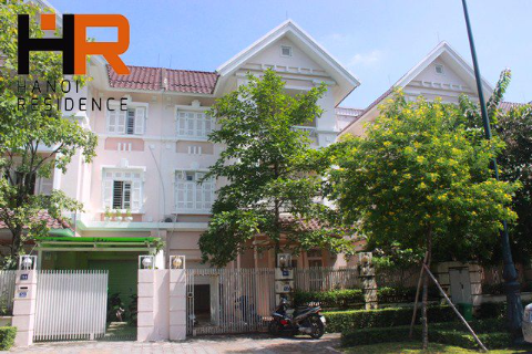 Unfurnished villa Ciputra for rent with 05 bedrooms