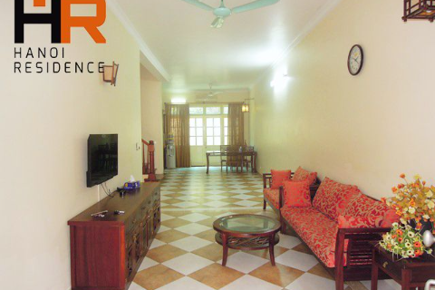 Reasonable price villa for rent in Ciputra, 4 beds & basic furniture