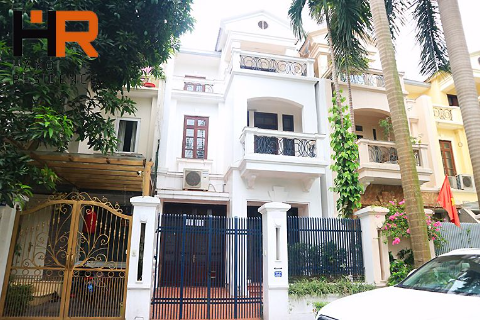 Unfurnished Villa Ciputra for rent with 04 bedrooms near UNIS school