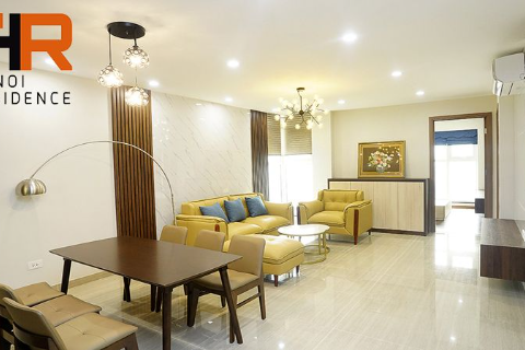 Beautiful & High floor apartment 03 beds for rent in L4 Ciputra, Ha Noi