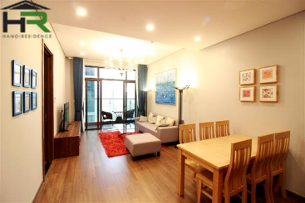Red river-view 2bedroom apartment for rent in Ancora Luong Yen