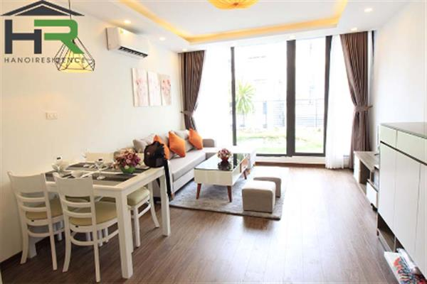 Furnished 01 bedroom apartment near Lotte & nice garden