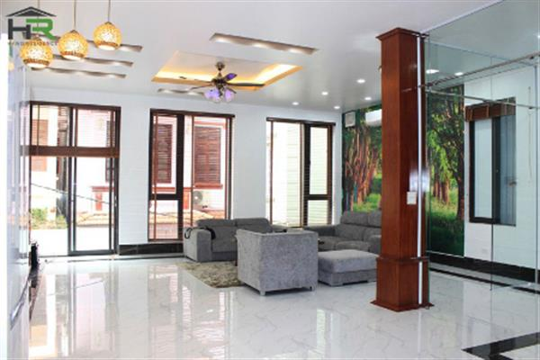 Modern new house for rent in To Ngoc Van, Tay Ho with fully furnised