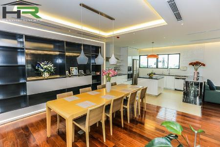 03 bedroom duplex apartment in Hoan Kiem, modern design and fully furnished