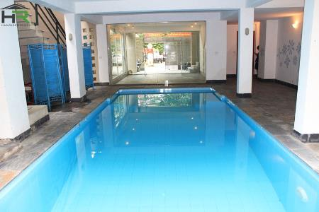 Swimming pool house for rent in Tay ho, modern design and large yard