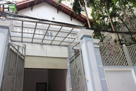 Renovated 4 bedroom house to rent in To Ngoc Van with large yard, car direct access