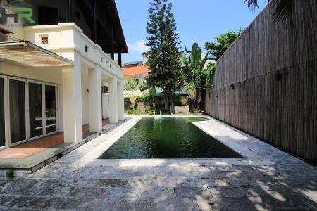 Elegant villa for rent with swimming pool and huge yard in Tay Ho