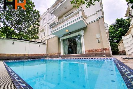 Swimming Pool villa Ciputra for rent, 05 beds with fully furnished
