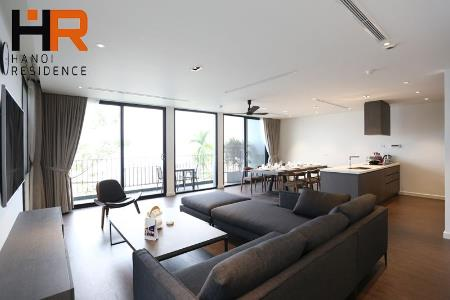 Modern & serviced apartment for rent in Quang Khanh with 4 bedroom & lake view