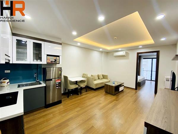 High-floor apartment with balcony in a high floor for rent in Ba Dinh