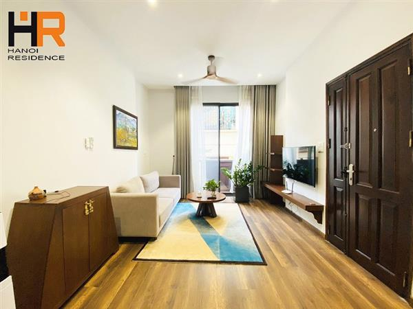 Brand new 1-bedroom apartment with gorgeous design for rent in Ba Dinh