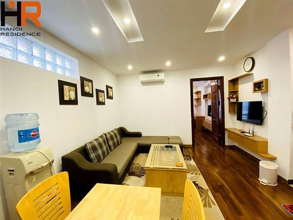 1 Bedroom Apartment on a High Floor for rent in Ba Dinh