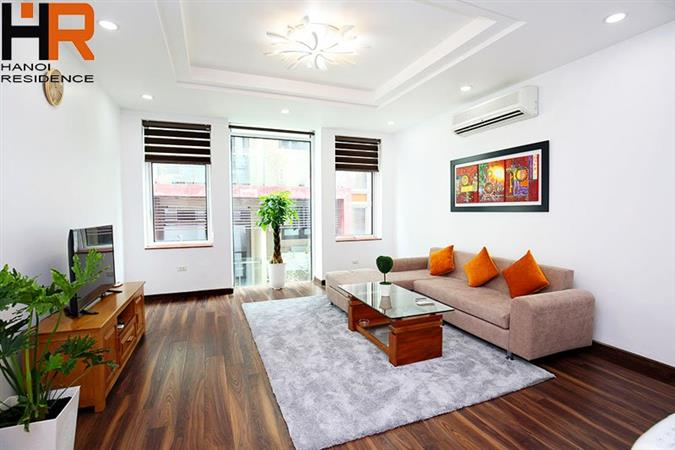 Bright 1 Bedroom Apartment with Full Furniture for rent in Ba Dinh
